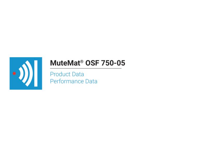 MuteMat® OSF 750-05
