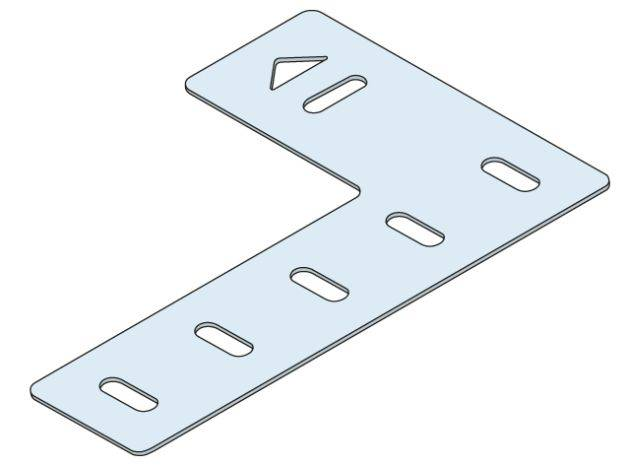 Ancon Reveal Support Plate