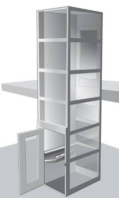 A5000 Vertical Platform Lift