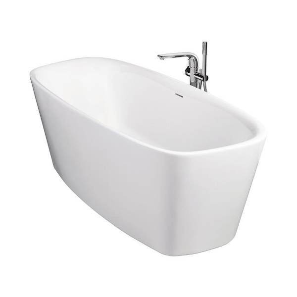 Dea 180 x 80 cm Freestanding Double-Ended Bath