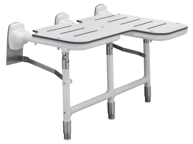 Bariatric Folding Shower Seat with Legs B-918116