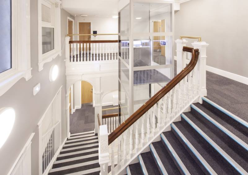 Cibes A5000 Platform Lift For Newcastle Student Accomodation