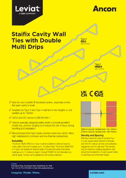 Staifix Cavity Wall Ties