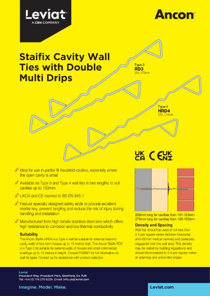 Staifix Cavity Wall Ties