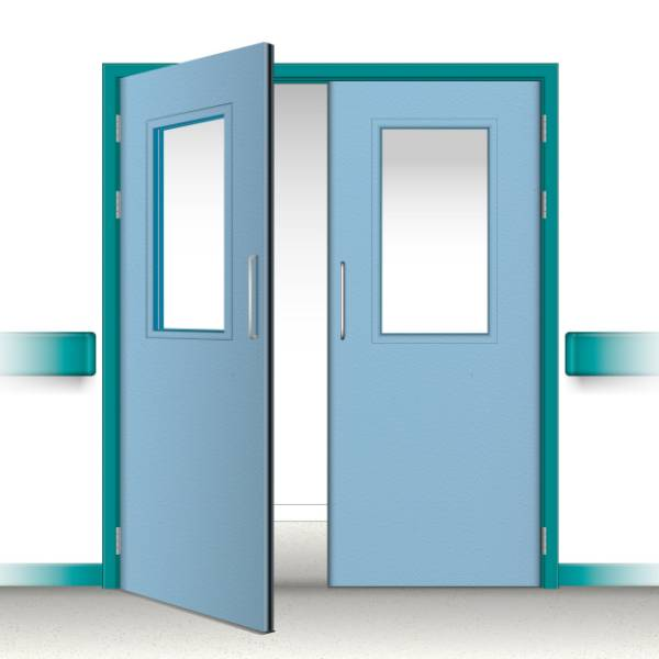 Postformed Double Doorset - Vision Panel 13
