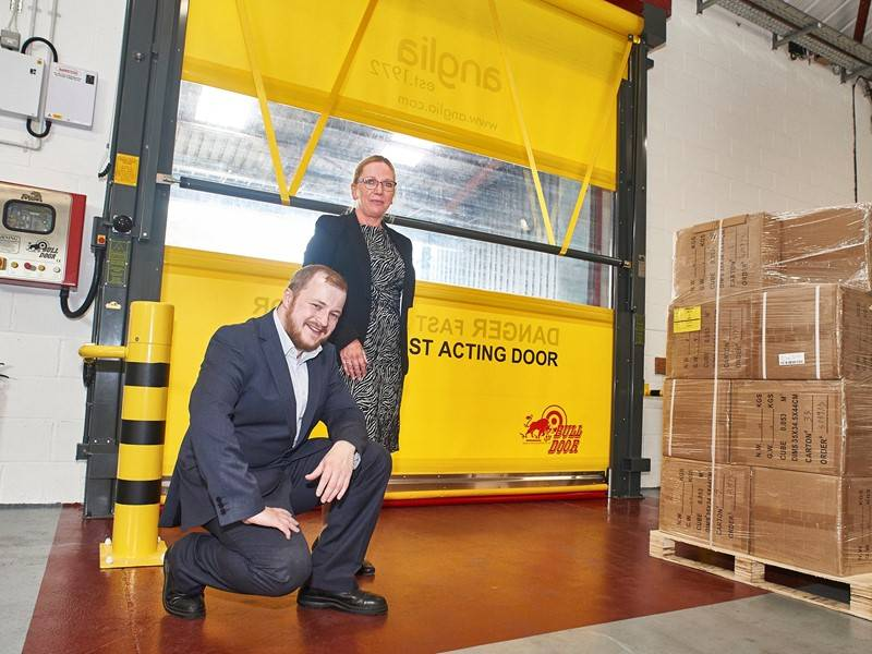 Union Industries roll out a new door for Anglia Components