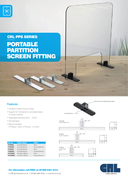 Portable Partition Screen Fitting