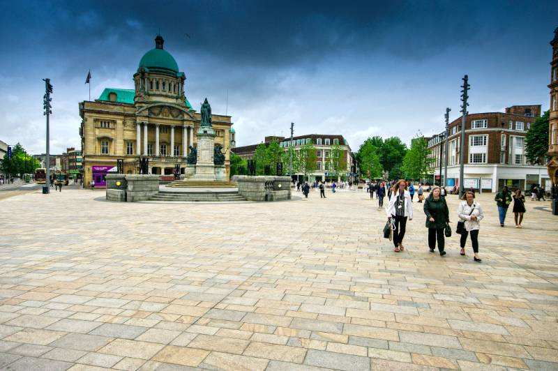 CITY OF CULTURE 2017 – HULL CELEBRATES WITH NEW PUBLIC REALM