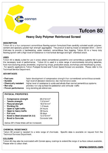 Tufcon 80