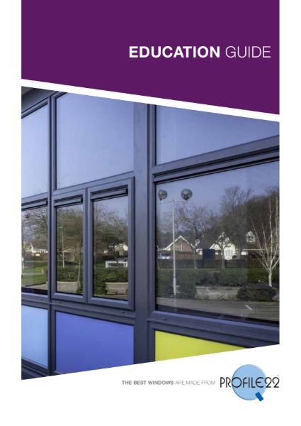 Profile 22 Education Sector Brochure