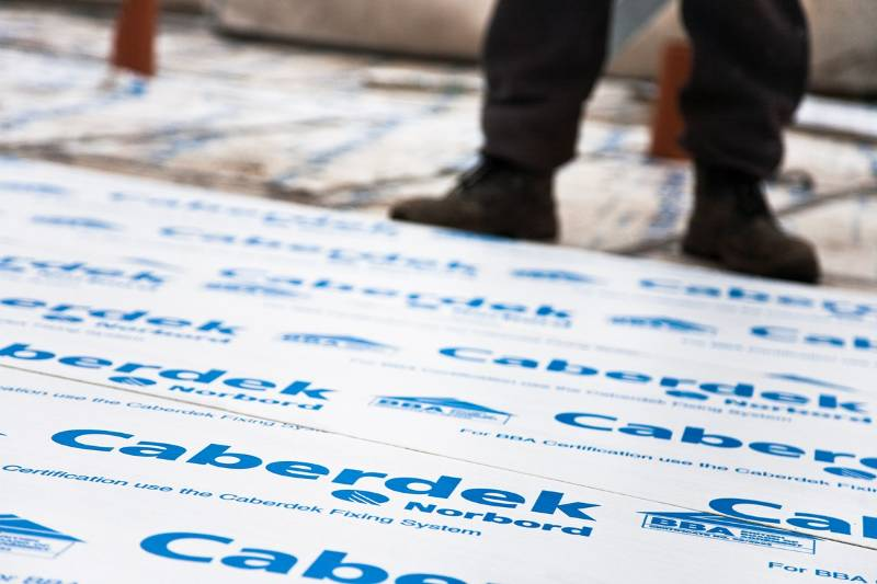 Caberdek is the floor of choice for upmarket housebuilder