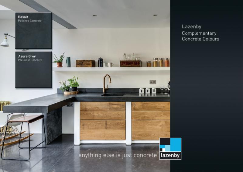 Lazenby Complementary Concrete Colours brochure