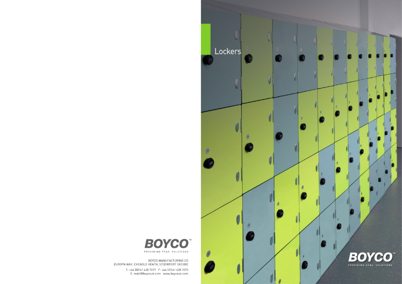 BOYCO UK - Lockers