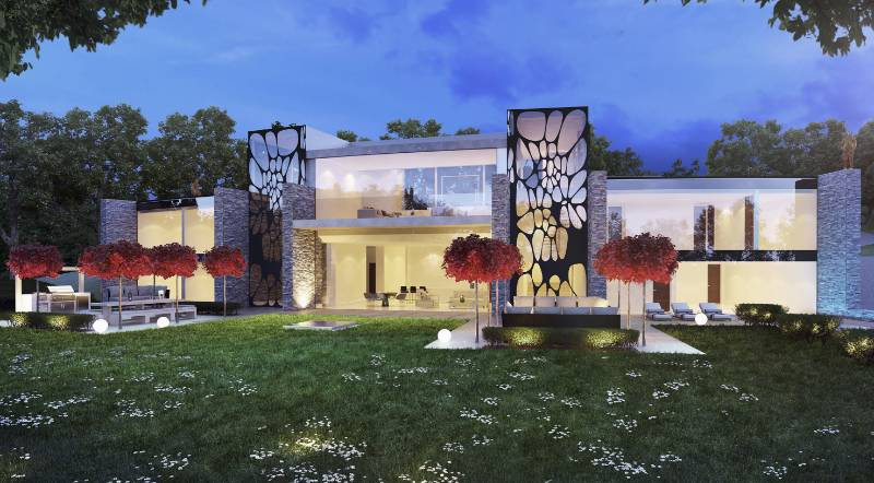 Luxury New Hillside Home, North London