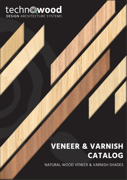 TECHNOWOOD VARNISH VENEER CHART