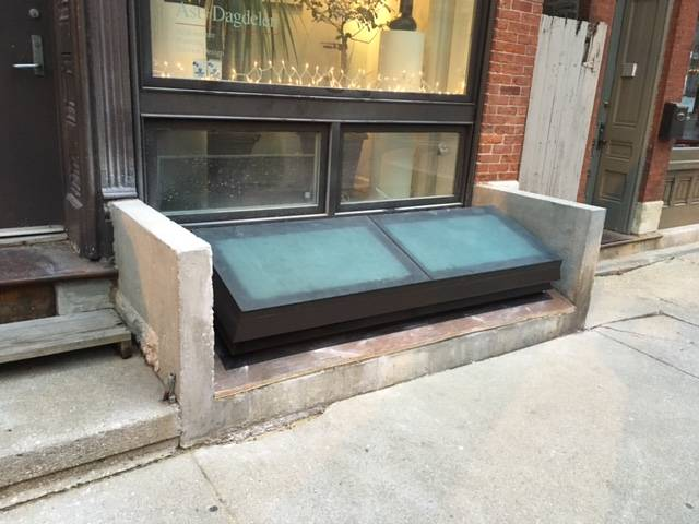 Glazed Basement Access - Chicago
