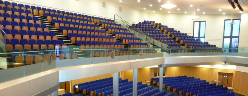 Villa Cross Church of God Prophecy Auditorium Seating