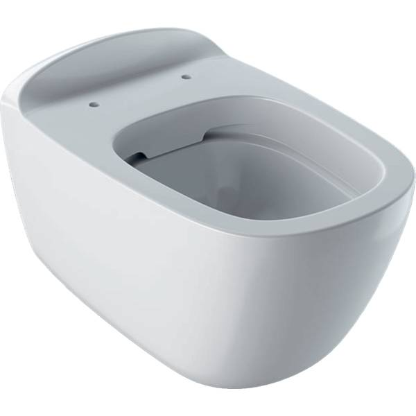 Citterio wall-hung WC, washdown, shrouded, Rimfree