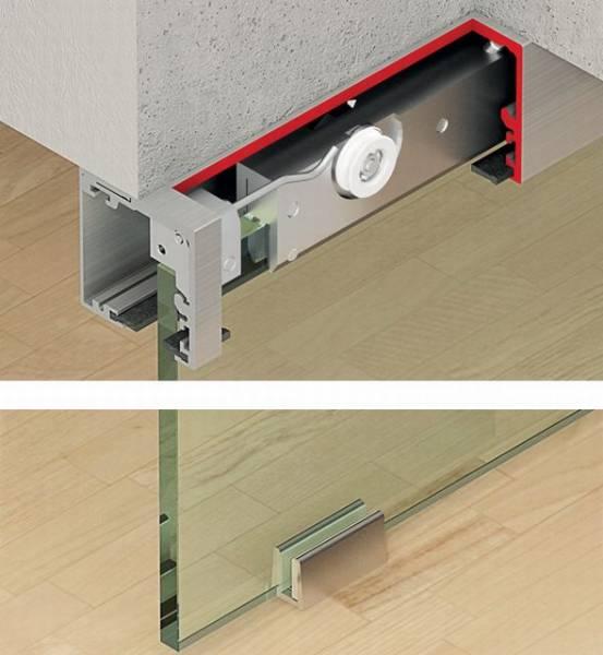 Slido Classic 50/120-F Glass Sliding Door System