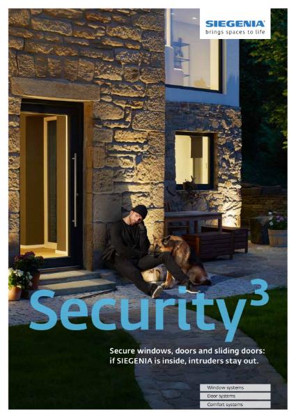 Complete security product range brochure