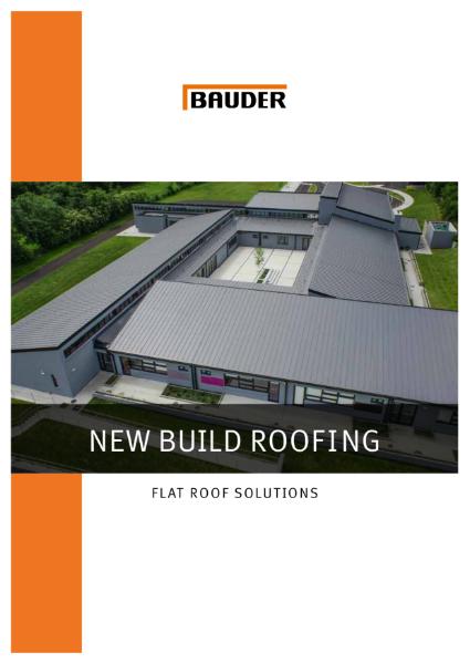 New Build Flat Roofs - Bauder
