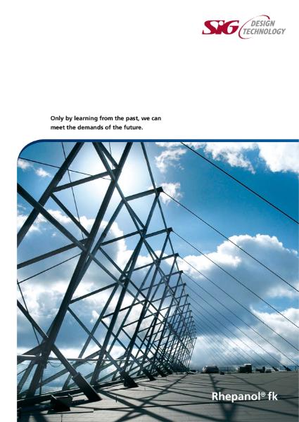 FDT Rhepanol fk PIB Single Ply Roofing Membrane Brochure