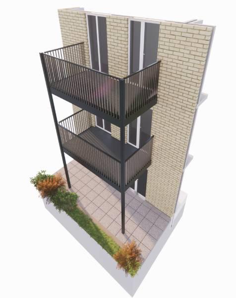 Cobalt Stack Balcony System