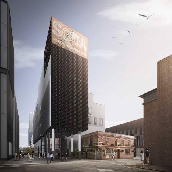 MMU SODA Building, London