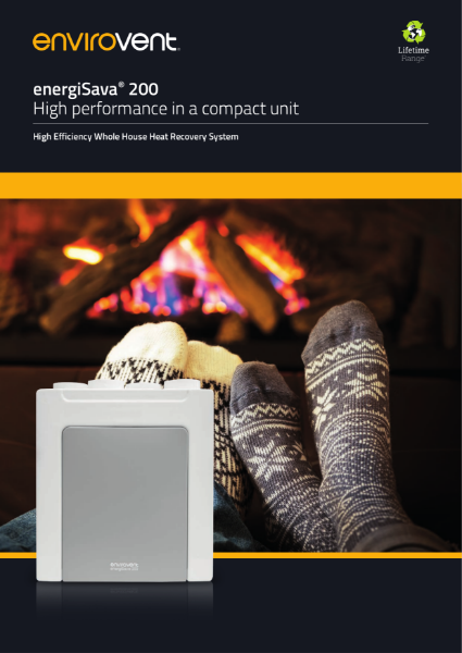 energiSava 200 Brochure (MVHR / Heat Recovery)