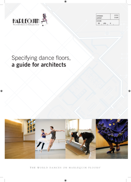 Specifying Dance Floors - A Guide for Architects. This guide explains the differences between sports floors and dance floors as well as useful information for specifying for dance