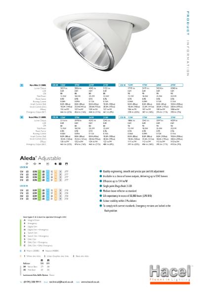 Aleda® Adjustable