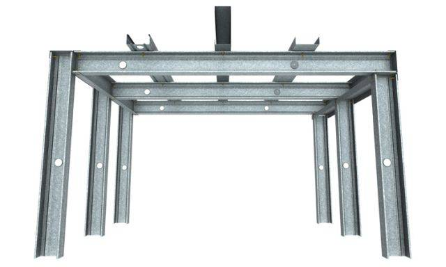 Steel Stud Drywall Ceiling System