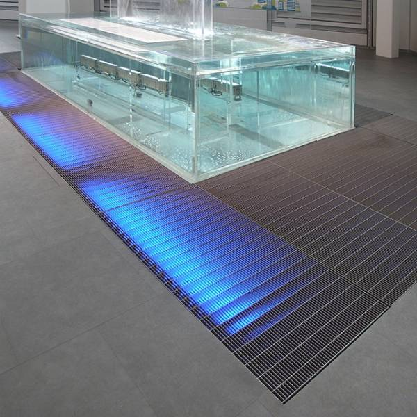 Steel Gratings - Heel-Proof Flooring