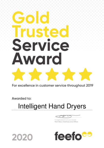 Gold Trusted Service Certificate 2020