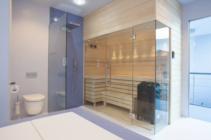 Residential Sauna Suite C