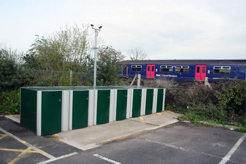 Cycle-Works lockers at Railway Stations