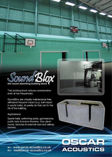 SoundBlox Acoustic Blocks