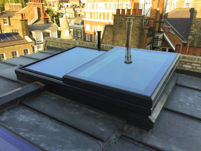 The Sliding Rooflight - SlideOver Fixed