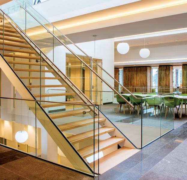 Frameless Glass Balustrade Model 3011_3031