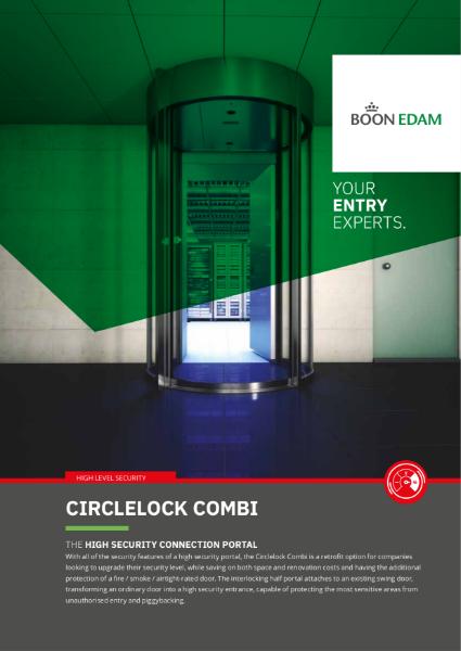 CircleLock Combi - high security connection portal