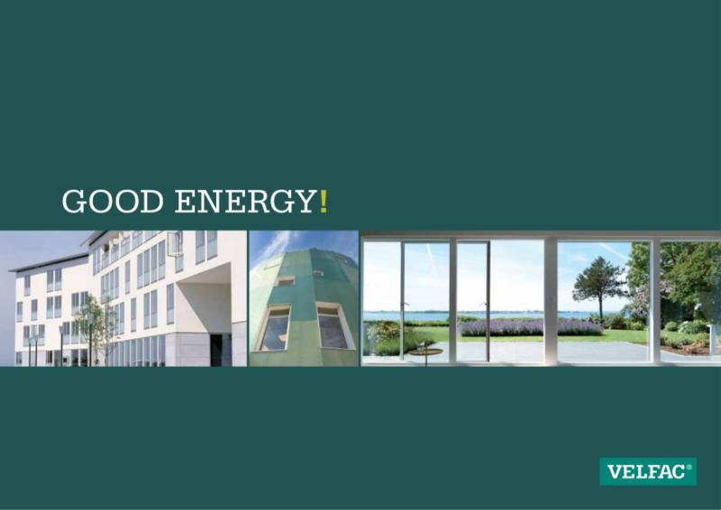 VELFAC Composite Windows Providing Low Energy Buildings