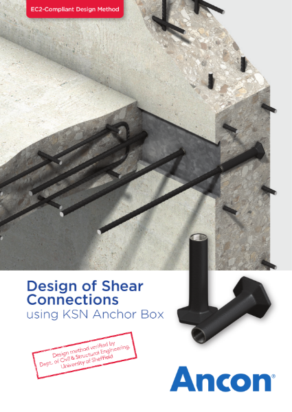Design of Shear Connections using KSN Anchor Box