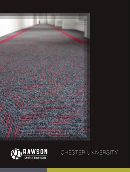 Chester University Case Study with Rawson's Dash tile
