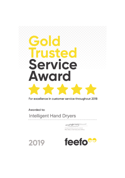 Gold Trusted Service Certificate 2019