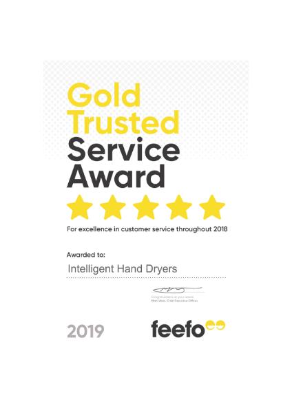 Gold Trusted Service Certificate 2019