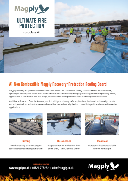 Magply Recovery Board