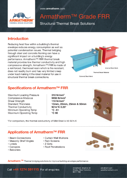 Armatherm FRR - Structural Thermal Break