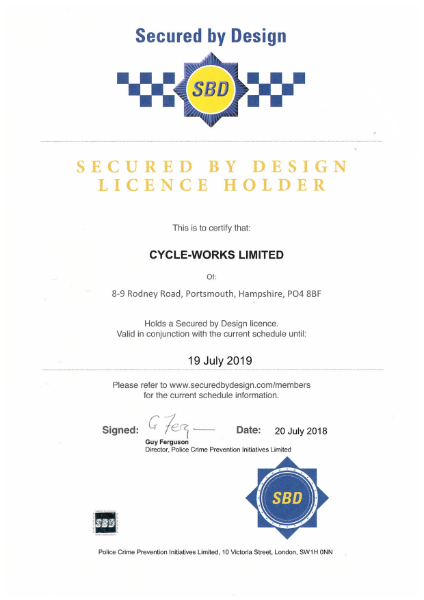 Secure by Design licence