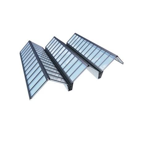Atrium Ridgelight 25–40° Modular Skylight