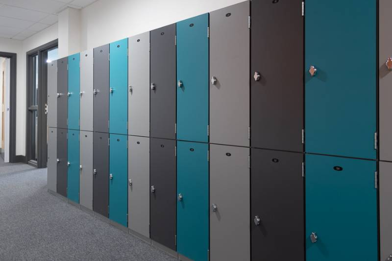 Laminate Lockers - Dry Area